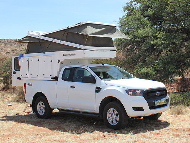 Ford Ranger Super Cab 4x4 | Desert 4x4 Rental Upington